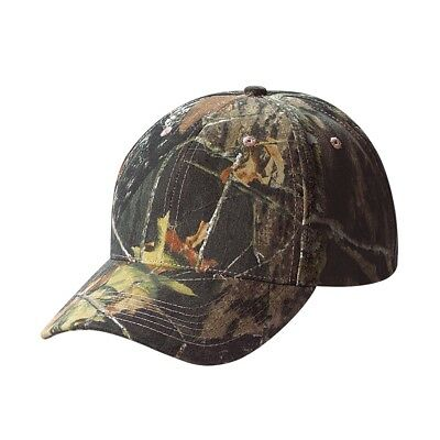 Mossy Oak Camouflage Youth Cap, LC10 Camo Baseball Hat Kids Boys Girls