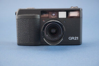 Ricoh GR-21  mit 3,5 21mm optik