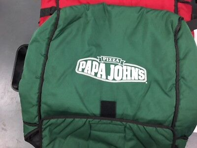 Papa John's Pizza Delivery Bag, Large GREEN
