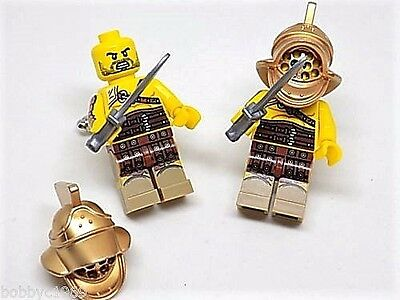 Handmade, LEGO® Gladiator Mini Figure Cufflinks Silver Plated Toggles Gift Boxed