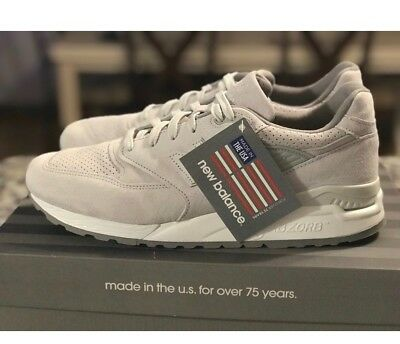 57120857021 CUSTOM MEN'S NEW Balance US 998 size 12. New in box. Color- Nimbus Cloud  (Grey)