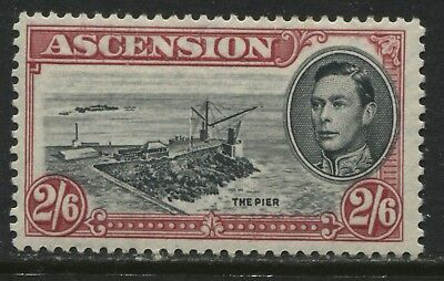 Ascension 1944 KGVI 2/6d mint o.g.