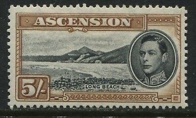 Ascension 1944 KGVI 5/ mint o.g.