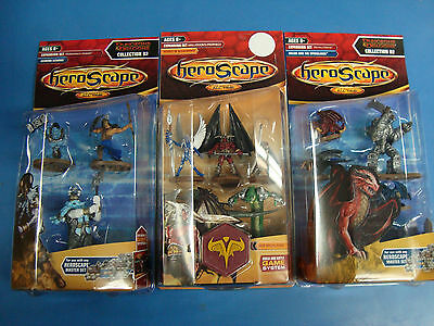 New! Lot Heroscape Golem and the Wyrmlings Heroes of Bleakwoode Icewind Scourge