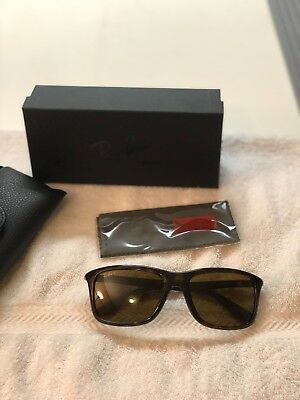 76e1a0efe2 RAY-BAN RB 8352 6221 83 Tortoise Square Sunglasses Frame Only 57-18 ...