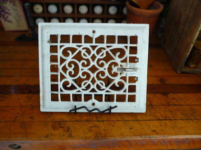 Vintage Cast Iron Heat Register Vent Cover Art Deco