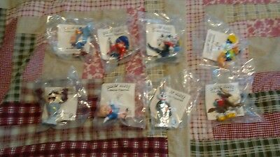 1990 Shell LOONY TUNES CHARACTERS LOT OF 8 SEALED IN PACKAGE