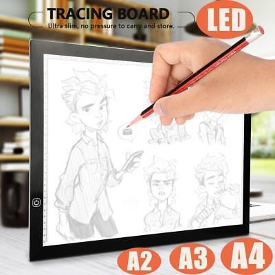 A2/A3/A4 LED Tracing Board/3x Magnifier Reading Drawing Thin Pad Copy Lightbox