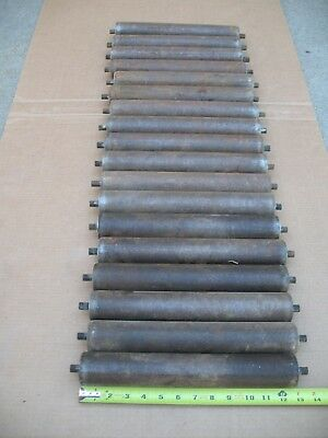 """Conveyor Rollers  12 3/4"""" X  2""""  Lot Of 18 Roller (Notice Limited Shipping Area)"""