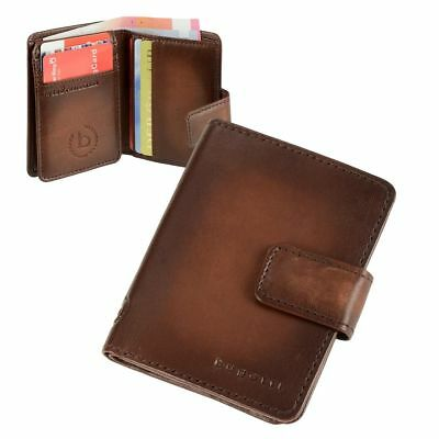 Bugatti Card Case Rfid Leather Wallet Wallet Purse Men S