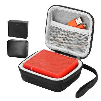 Portable EVA Hard Zipper Case Storage Bag Box For JBL Go 1/2 Bluetooth Speaker