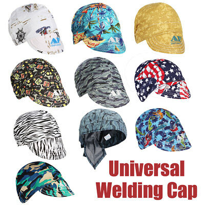 Universal Sweat Absorption Elastic Welding Welders Hat Cap Protector Gift AU