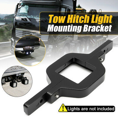 Tow Hitch Mounting Bracket Tow Bar Mount Reverse Led Work Light Bar Suv 4Wd Au