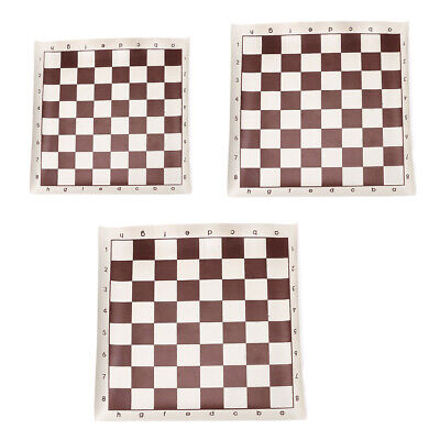 Imitation Leather Chess International Chessboard Roll Portable Board Game Gift