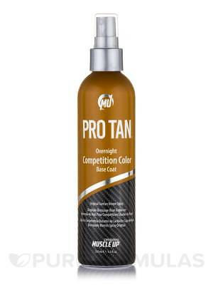 Pro Tan Overnight Competition Color Base Coat wont run streak or wipe away