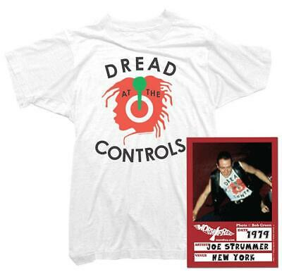 Joe Strummer T-Shirt - Dread At The Controls Tee  | Officially licensed