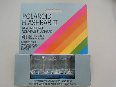 Polaroid Flashbar Ii Sx-70 Land Film New Improved Brand New