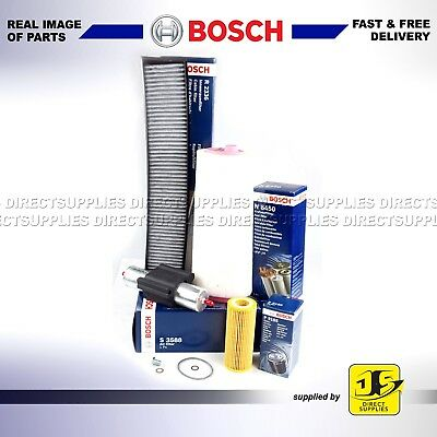BOSCH BMW 320D CD TD E46 Diesel Service Kit 2001-06 150bhp OIL AIR FUEL POLLEN