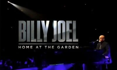 2 Tickets Billy Joel 8/23/18 Madison Square Garden MSG New York,