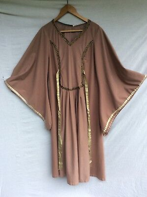 Quality Medieval Dress Costume Ideal For Stage, Theatre, Panto, Fancy Dress Etc.