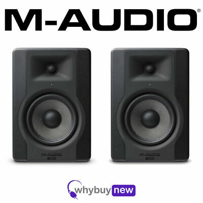 "M-Audio BX5 D3 5"" Active DJ Studio Reference Monitor Speakers PAIR inc Warranty"