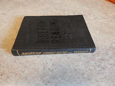 1941 Book-Audels Answers On Blueprint Reading For Mechanics And Builders