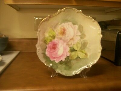 """Victorian 10""""  Lovely Roses Plate - Wonderful Condition"""