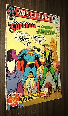 WORLD'S FINEST #210 -- March 1972 -- VG Or Better