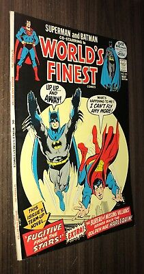 WORLD'S FINEST #211 -- May 1972 -- VG Or Better