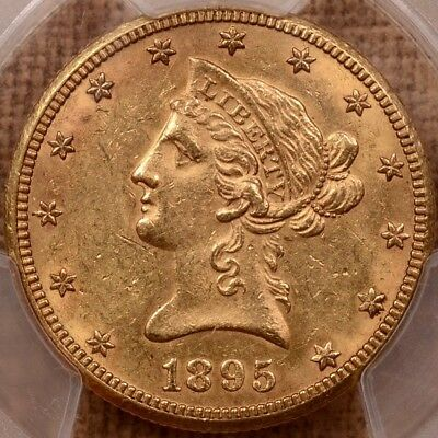1895-O $10 Lib Gold Eagle, PCGS MS61, PQ tough much better!   DavidKahnRareCoins