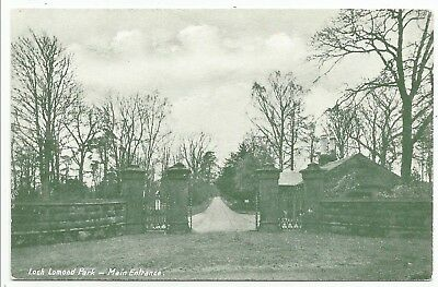 POSTCARDS-SCOTLAND-BALLOCH-PTD. Loch Lomond Park, Main Entrance.