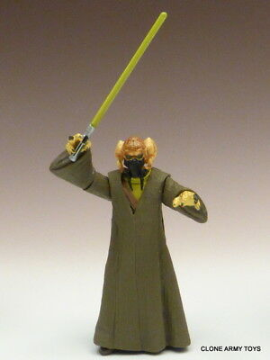 STAR WARS Plo Koon MASTER POWER OF THE JEDI COLLECTION POTJ LOOSE