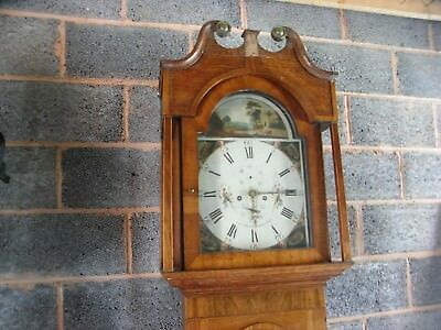 Grandfather / Longcase Clock by J.A. Shaw.