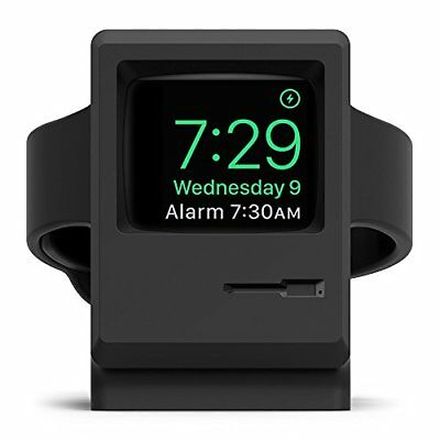 Apple Watch Stand iWatch Charging Stand Dock Cradle Holder Black