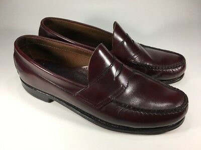 87c154e8289 G H Bass Weejuns Original Classic Penny Loafers Dress Shoes Mens Size 9.5 D