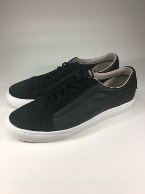 Vans Old Skool Brand New Premium Black Leather Low Skate Shoes Mens Size 9 M 89289f1f2