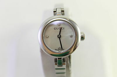 63c6e3e8116 Gucci Womens Diamantissima Made Quartz Diamond Accented Watch YA141503