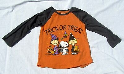 3c2b89a6101665 Halloween Peanuts Snoopy   Woodstock Witch GIRLS Toddler Graphic T-Shirt  Size 2T