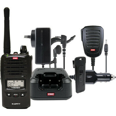 TX6160 5W UHF CB Handheld GME With Accessories Pack