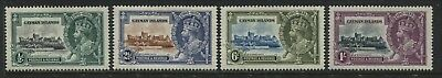 Cayman Islands KGV 1935 Silver Jubilee set of 4 mint o.g.