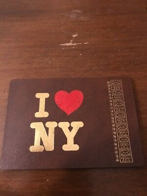 I Love NY Mini Address Book Phone Number Email Pocket Size