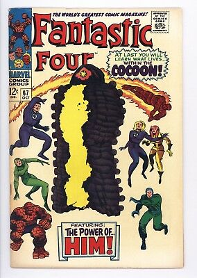 Fantastic Four #67 Vol 1 Near Perfect High Grade 1st App of HIM (Adam Warlock)
