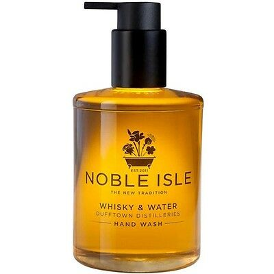 """Noble Isle """"Whisky & Water"""" Hand Wash & A FREE Molton Brown 30ml - BRAND NEW"""