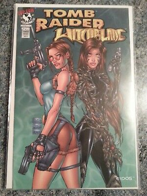 Tomb Raider / Witchblade Special 1 VF- 1997 Turner variant cover Top Cow Comics