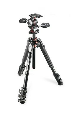 Manfrotto 190X PRO4 Tripod with MHXPRO-3  3-Way Pan/Tilt Head Kit