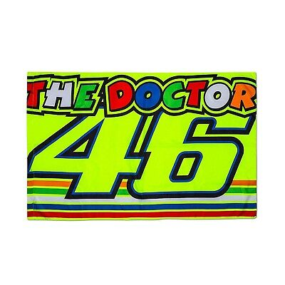VR46 Flagge Valentino Rossi VR46 Moto GP The Doctor Official 2018
