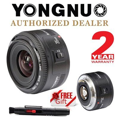 Yongnuo YN 35mm F2.0 Auto Focus Large Aperture Lens for Canon + Cleaning Pen IT