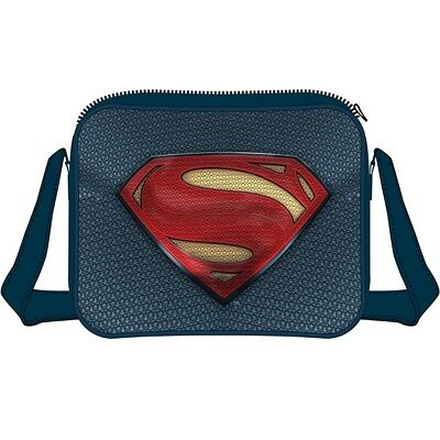 DC Comics Batman vs Superman  Dawn of Justice Superman Logo Messenger Bag 61e23badfc