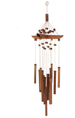 Bamboo Windchime with Beads