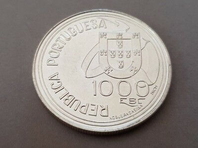 1994 PORTUGAL1000 Escudos LARGE Vintage Silver European Excellent Coin